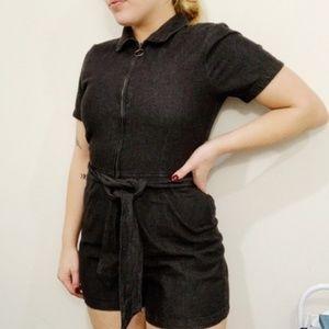 Cotton On Shorts Zip Jumpsuit